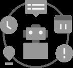 ロボットベースのオートメーションバックオフィス